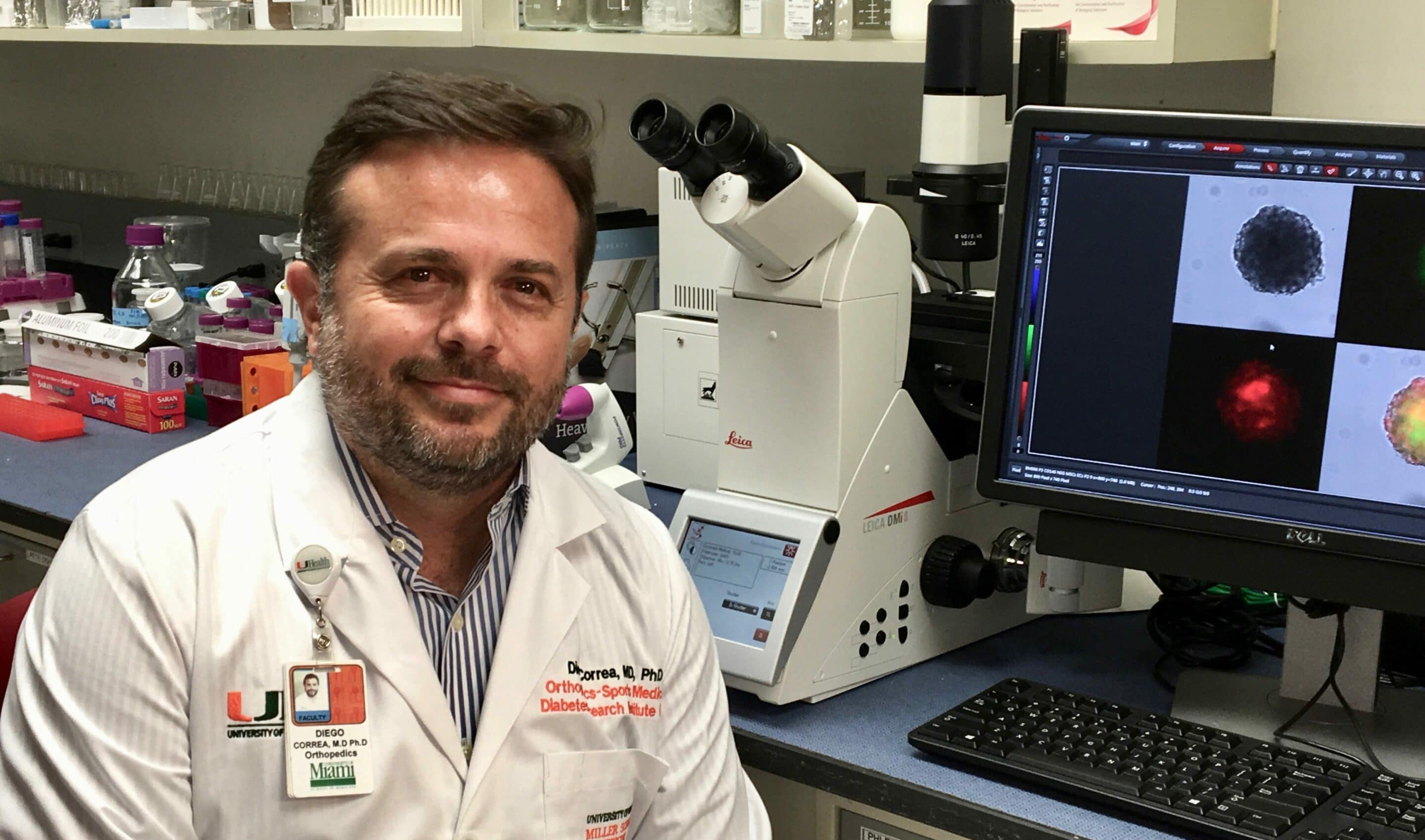 Diego Correa: Stem Cell Therapy Scientist
